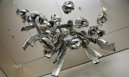 """""""Untitled (Living Sculpture)"""" by Marisa Merz, viewed from below - HEATHER MULL"""