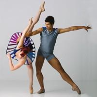Unusual footwear among the novelties in the new Texture Ballet program.