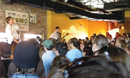 Up-close and personal: The Walkmen play an intimate day party