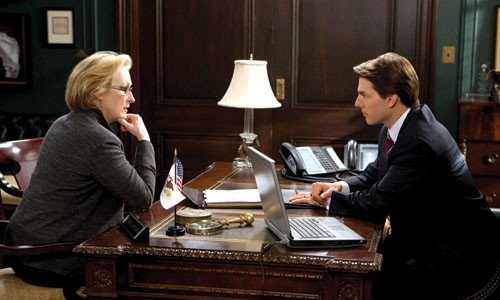 Up for discussion: Meryl Streep and Tom Cruise