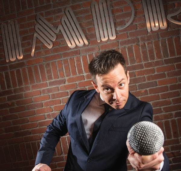 Up in Crawford's grill: Bill Crawford mic-checks favorite stomping ground the Pittsburgh Improv.
