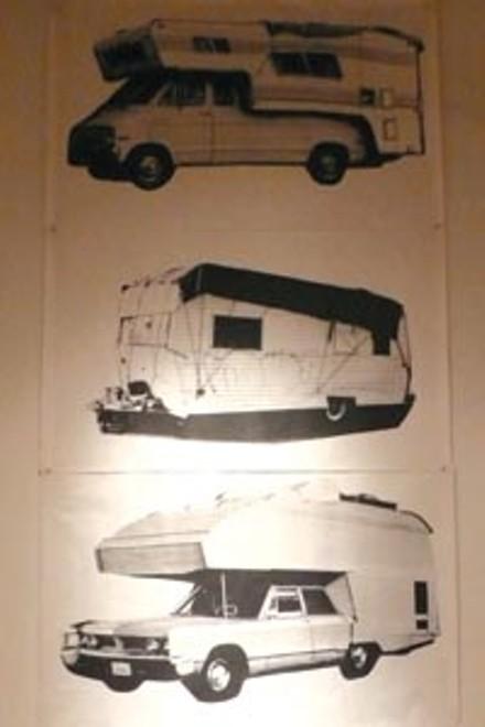 Vagabonding: Artwork and memorabilia in Bill Daniel's The Great Depression.