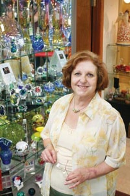 Valentina Busch is closing her shop, European Treasures. - HEATHER MULL