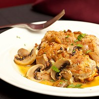 Johnny's Veal Saltimbocca Photo by Heather Mull
