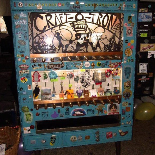 Vending Machine For Local Crafts Latest Site Blogh