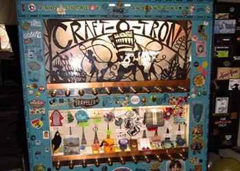 Vending Machine for Local Crafts' Latest Site