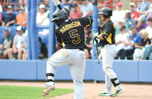 Waiting for his turn: Josh Harrison