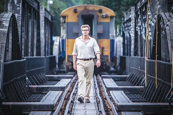 Walking through history: Colin Firth as Eric Lomax