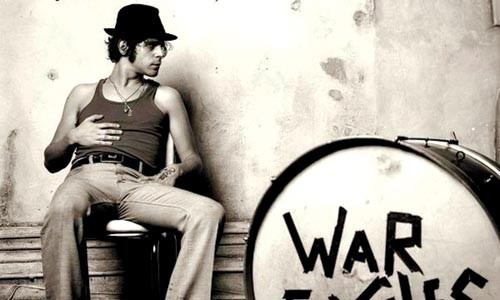 War drums: Langhorne Slim