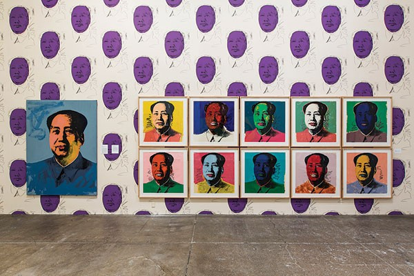 Warhol Rehang, The Andy Warhol Museum totally reorganized