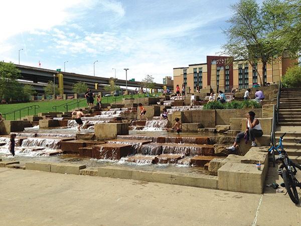 Water Steps, Riverfront Park