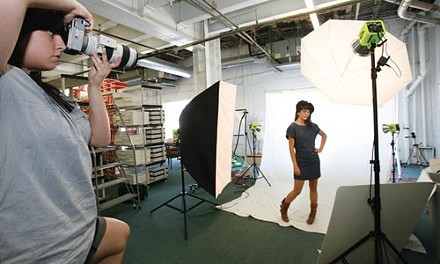 Web-ready: shooting fashions for ModCloth.com - HEATHER MULL