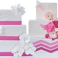 Wedding cakes designed by Oakmont Bakery