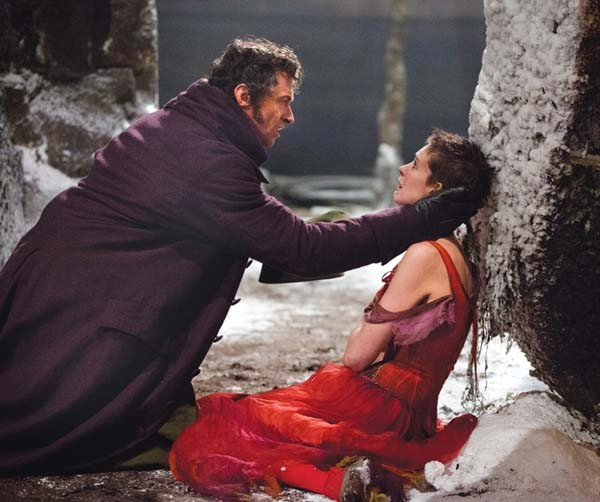 We'll always have Paris: Hugh Jackman and Anne Hathaway