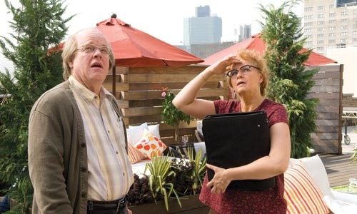 We're confused, too: Philip Seymour Hoffman and Samantha Morton