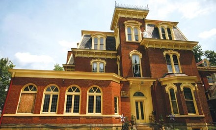 What's past is prologue: The former Lynch Mansion now houses the Waldorf School.