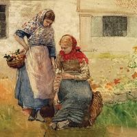 "Winslow Homer's ""Picking Flowers"""