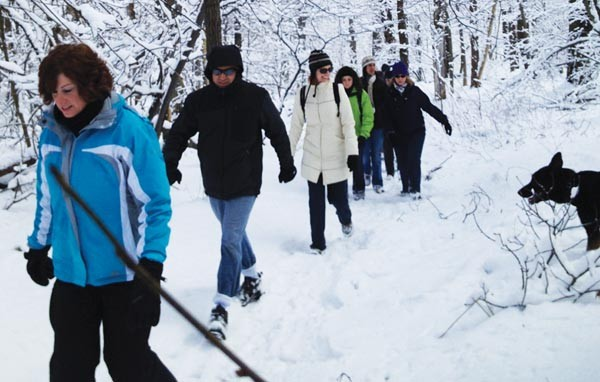 Winter hiking with Venture Outdoors - PHOTO COURTESY OF VENTURE OUTDOORS