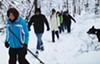 Winter hiking with Venture Outdoors