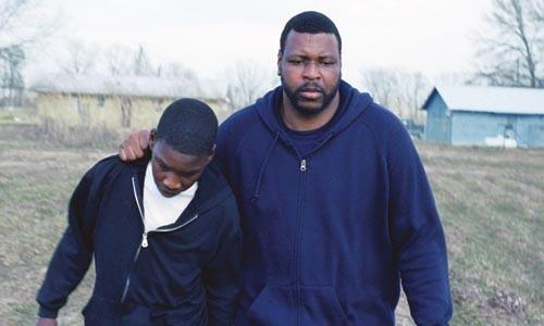 Winter walk: James (JimMyron Ross) and Lawrence (Michael J. Smith)