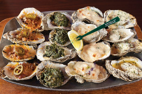 Wintzell's Oyster House's sampler