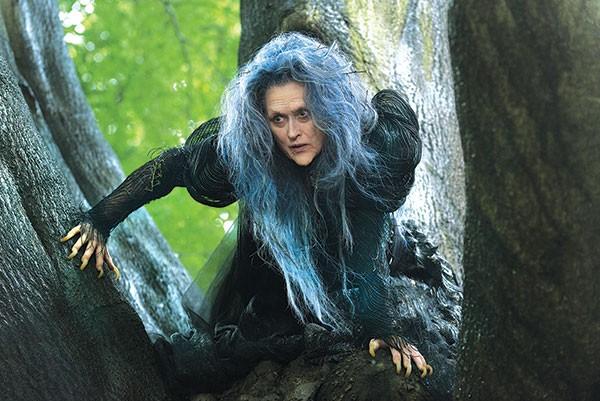 Witchy woman: Meryl Streep