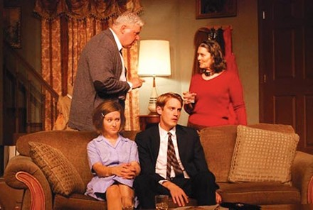 Woolf pack: The Summer Company's Who's Afraid of Virginia Woolf? - PHOTO COURTESY OF WILLIAM LYON