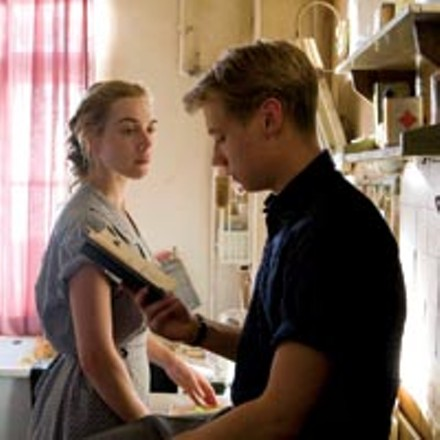 Word time: Kate Winslet and David Kross