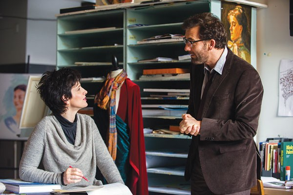 Words and Pictures film starring Clive Owen and Juliette Binoche