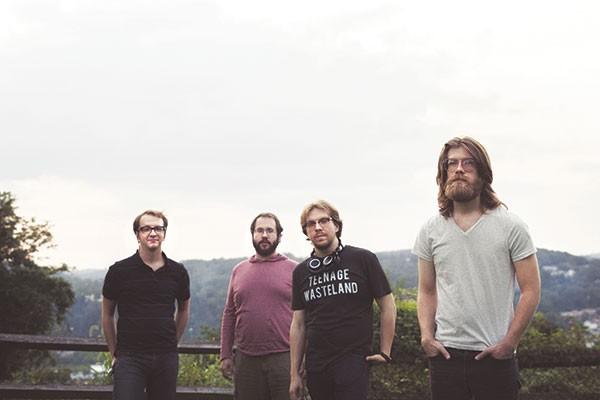 Wreck Loose: from left, Derek Krystek, Dave Busch, Nathan Zoob, Max Somerville