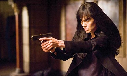 You don't want this in your wound: Evelyn Salt (Angelina Jolie)