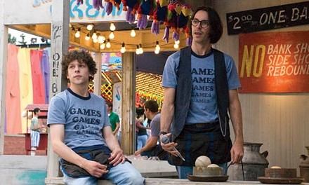 You must be this dorky to work this booth: Jesse Eisenberg and Martin Starr