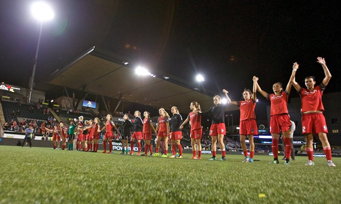 Another home win for the Portland Thorns