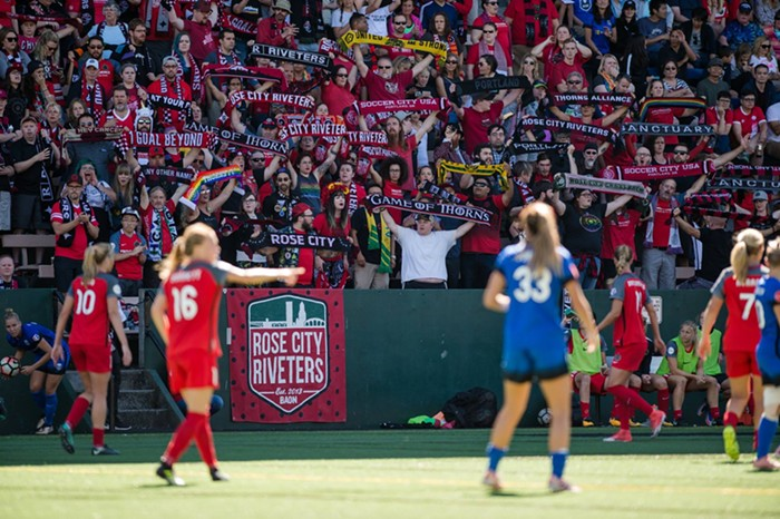 The Riveters were in full force in Seattle!