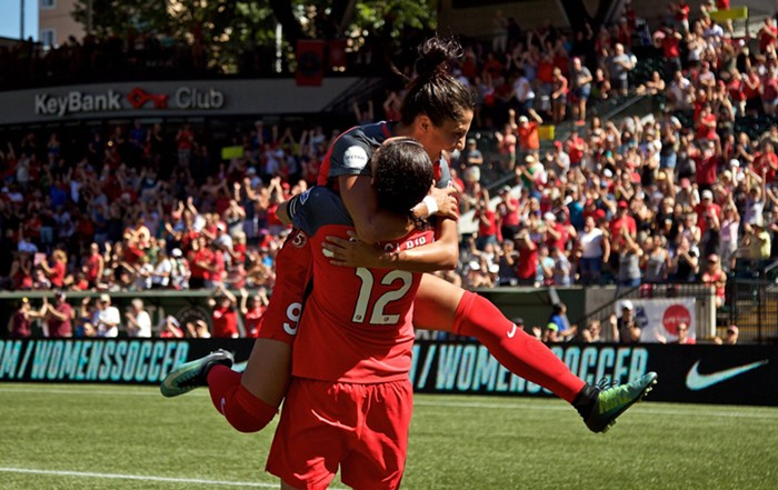 Please note – This is exactly how I plan to greet Christine Sinclair if I ever met her on the street.