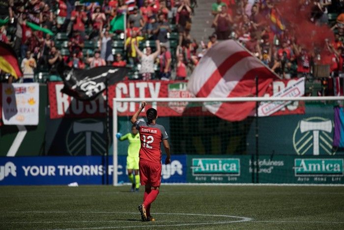 Oh Christine Sinclair, you keep making Portland look so good. And please may your joints forever stay intact.