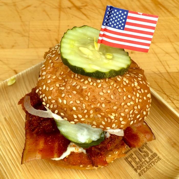 The great American sandwich: Lardos winning effort