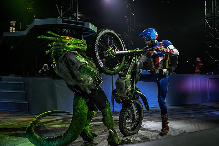 If You Like Your Superheroes on Dirt Bikes—Don't Miss ...