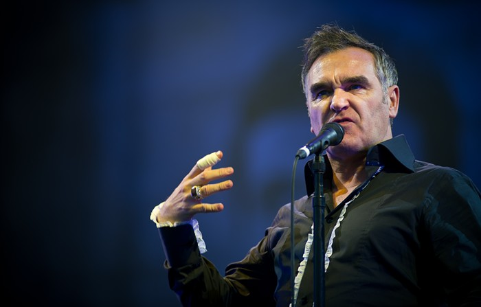 Celebrate Halloween with Morrissey