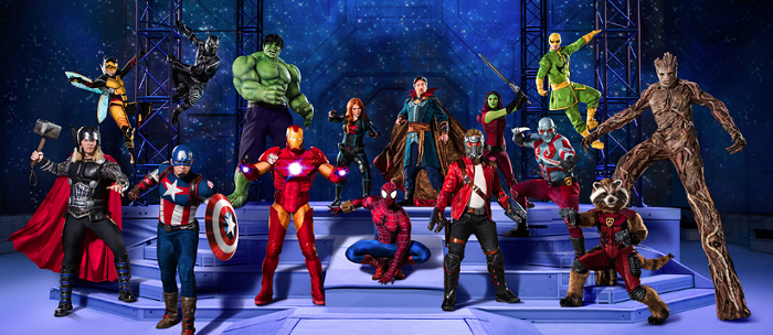 Avengers... and a lot of other randos... ASSEMBLE!