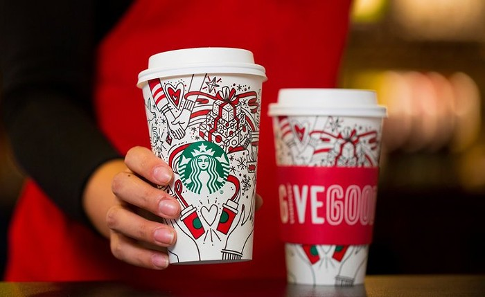 Starbucks Accused Of 'Gay Agenda' Over Holiday Cups