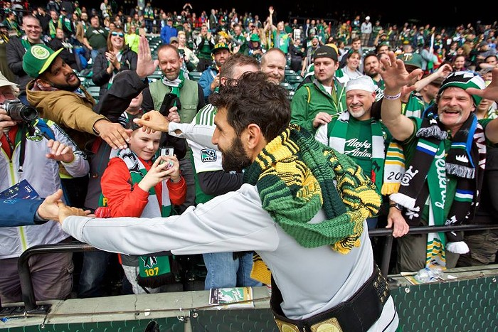Diego Valeri named MLS Most Valuable Player