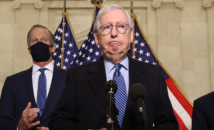 If Dems figure out a way to bypass the filibuster, Senate Minority Turtle Mitch McConnell vows to slip back into his shell.