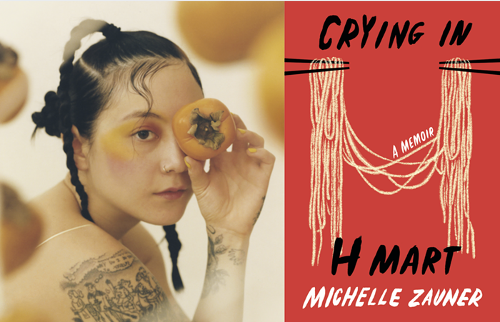 Michelle Zauner has two new projects out this spring: the album Jubilee, released under Japanese Breakfast, and the memoir Crying in H Mart.