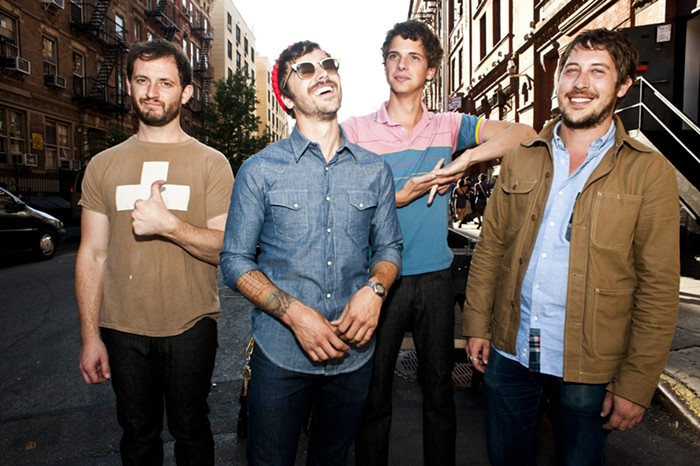 Catch Portland-based indie-rock outfit Portugal. The Man signing records at Music Millennium at 2 pm on Saturday!
