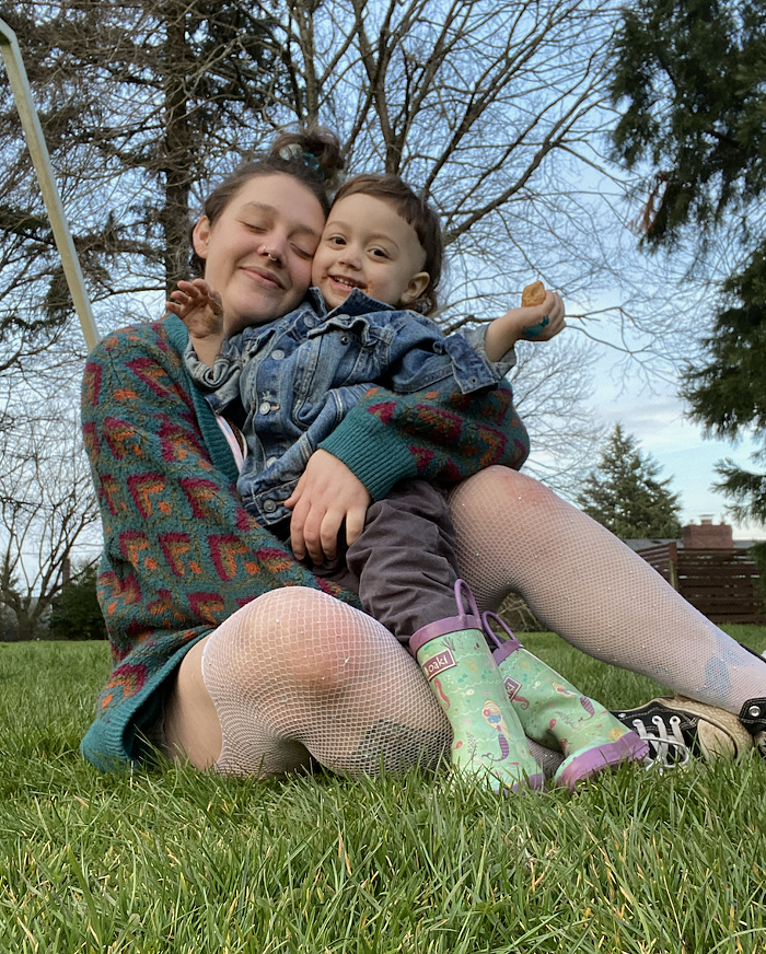 Kat Hemme and their child are hoping to move into a tiny home before theyre evicted.