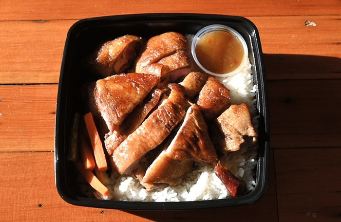 Cantonese roasted duck from YāYā PDX