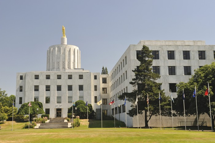 Theres drama this week at the Oregon State Capitol.