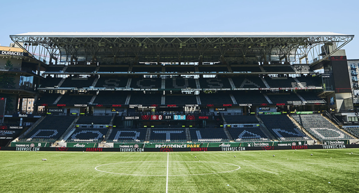 The National Womens Soccer League championship game will no longer be played at Providence Park this year.