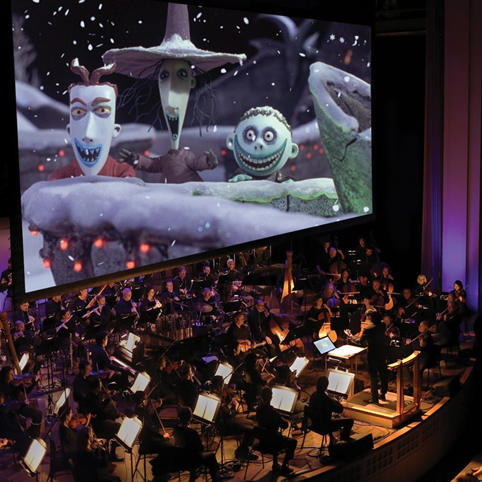 The Oregon Symphony will take you on a musical journey to Halloween Town during their live performance of The Nightmare Before Christmas.